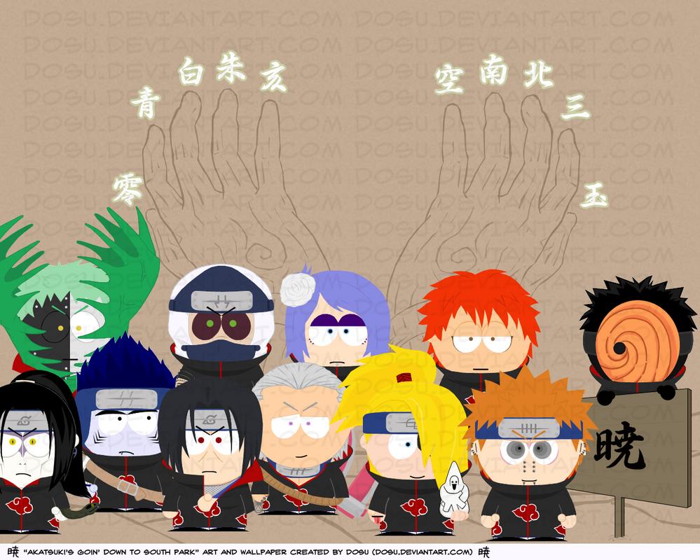 Akatsuki South Park Wallpaper
