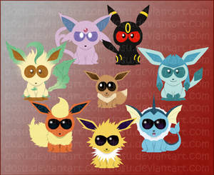 Eeveelutions - South Park Style