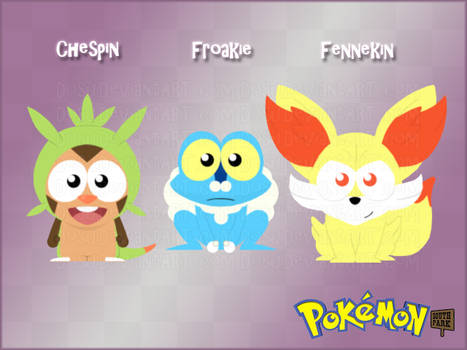 Pokemon GenVI Starters - South Park