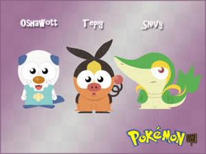 Pokemon Gen V Starters - South Park