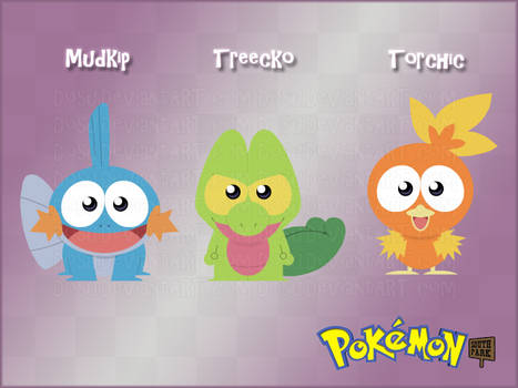 Pokemon GenIII Starters - South Park