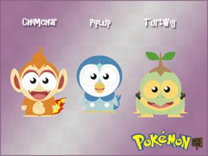 Pokemon GenIV Starters - South Park