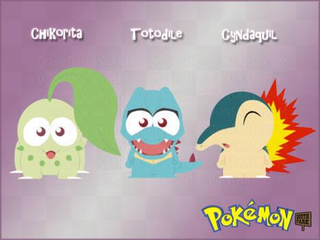 Pokemon GenII Starters - South Park