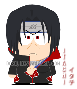 Itachi's Goin' to South Park by Dosu