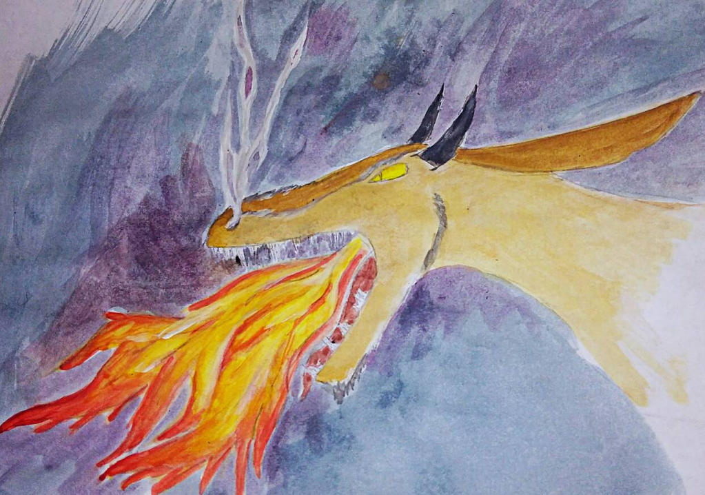 Fire Breather by BlahBlahToucan