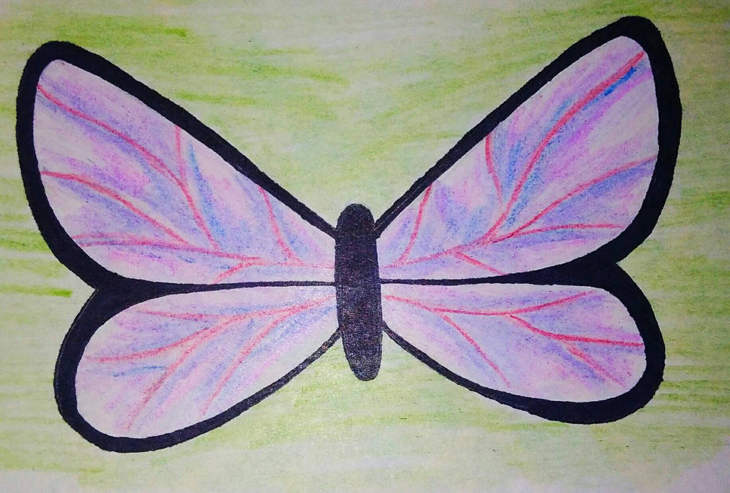 Butterfly by BlahBlahToucan