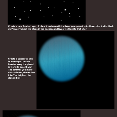 Make a planet with a star by Pokehkins on deviantART