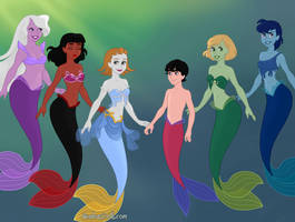 Steven Universe Mermaid Part 1 by springthornwillow