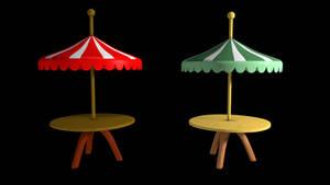 [DL]Umbrella Table