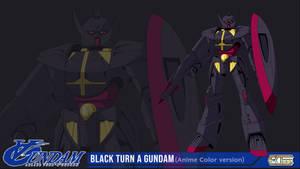 Fan Art_Black Turn A Gundam
