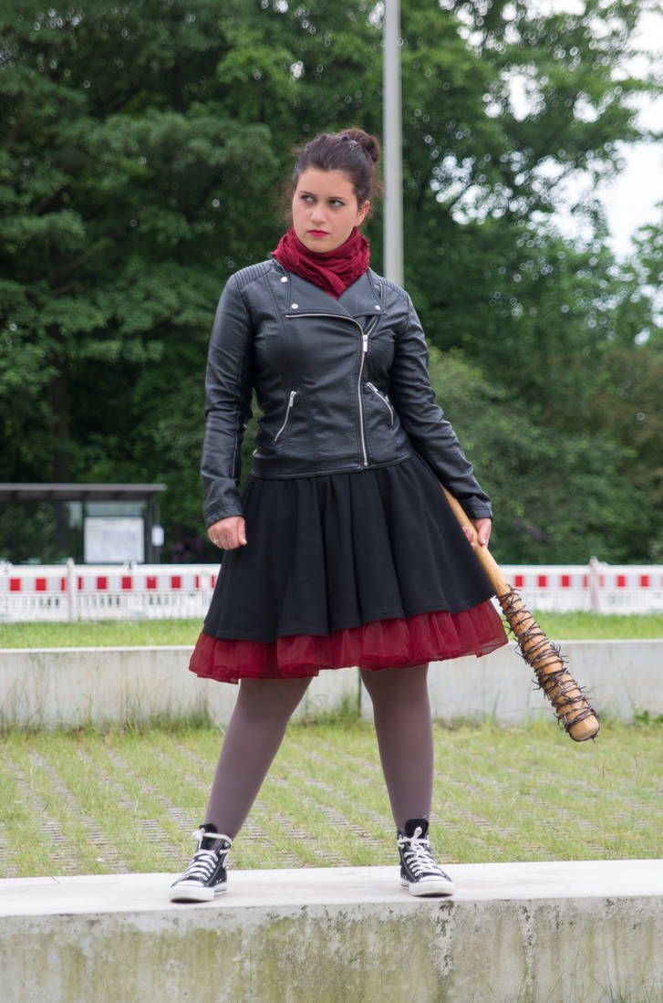 Negan inspired Stage Outfit // The Walking Dead by Sayuri-Tomoe