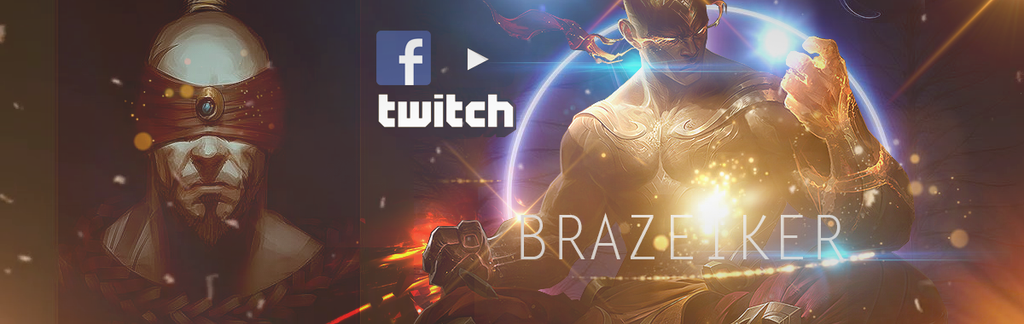 Brazeiker Twitch Cover by VongolaIriezzPhox