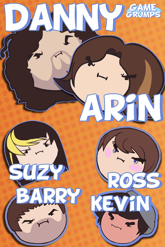 Game Grumps Background for iPhone or iPod by AlexTehKidd ...