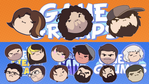 New GameGrumps Desktop Background by AlexTehKidd