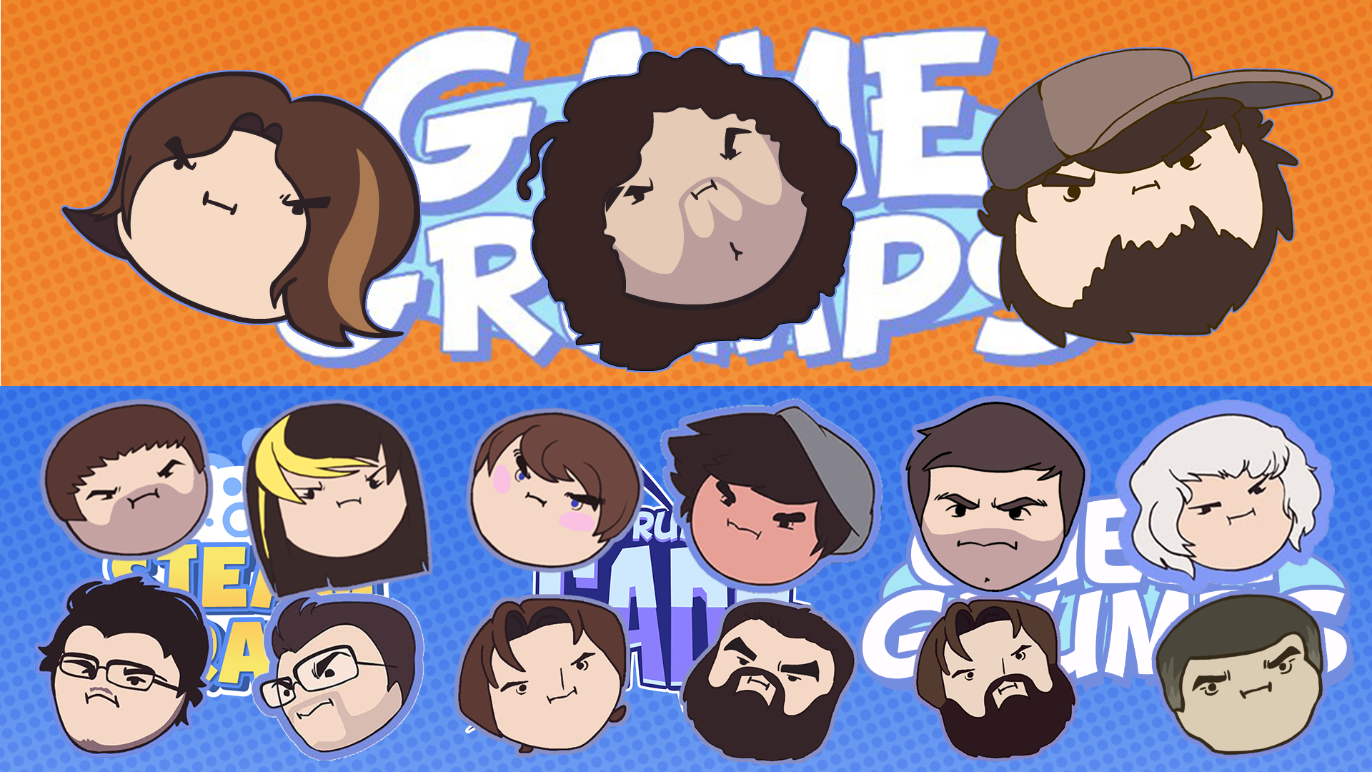 New GameGrumps Desktop Background by AlexTehKidd