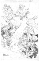 Shrugged 8 Holiday pencils by MicahJGunnell