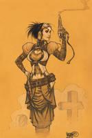 Lady Mechanika by MicahJGunnell