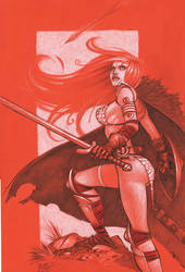 Red Sonja by MicahJGunnell