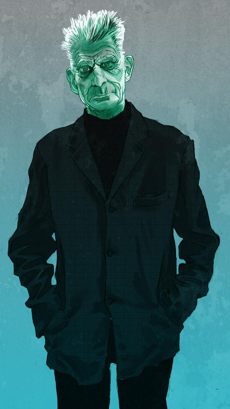 Samuel Beckett by MicahJGunnell