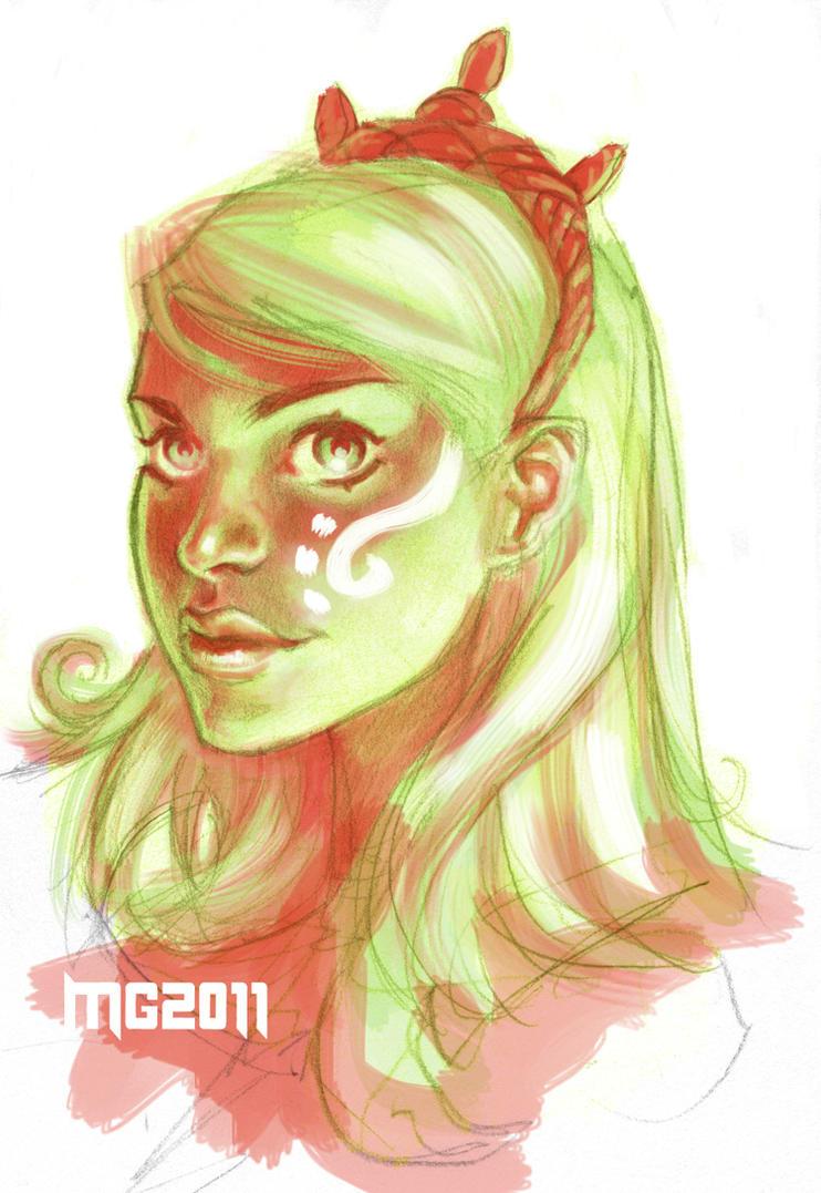 Glow Girl by MicahJGunnell