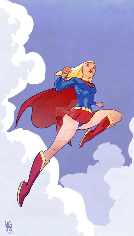 Supergirl by MicahJGunnell
