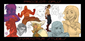 PROJECT: OPUS - Character Studies