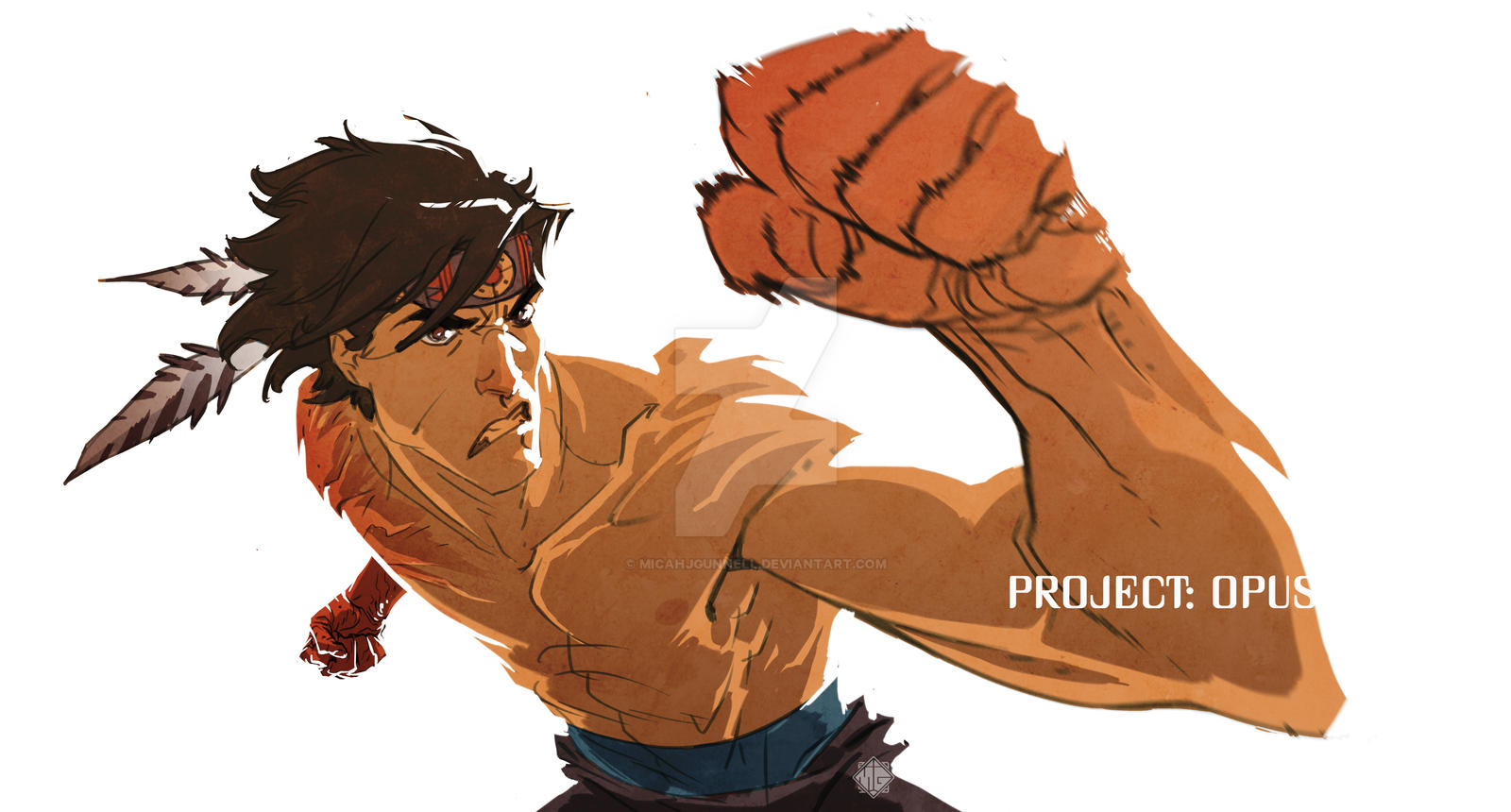 Project: Opus - R Punch by MicahJGunnell