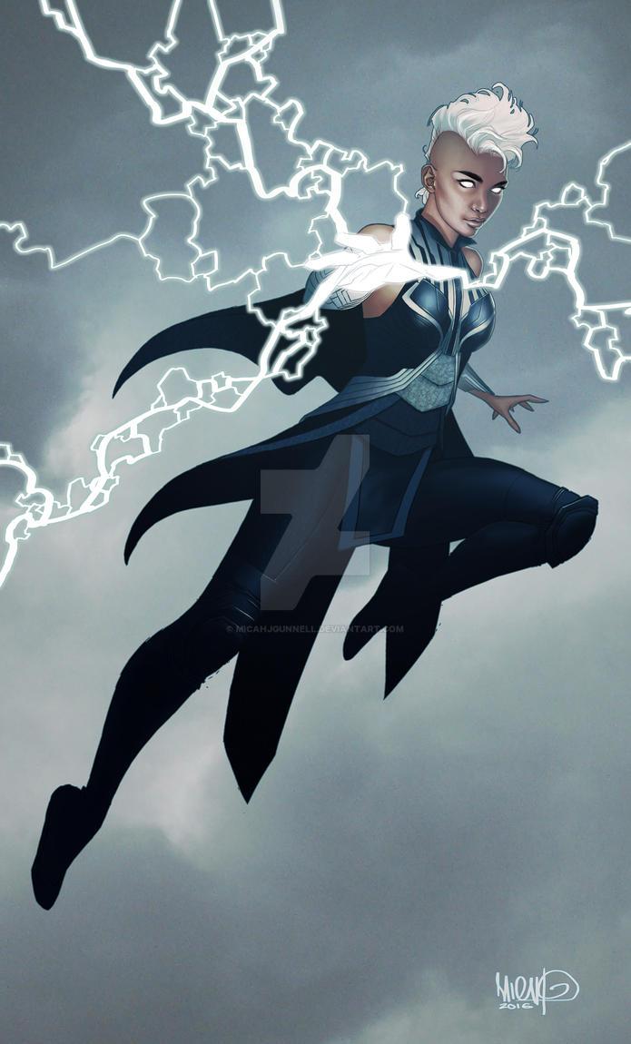 X-Men: Apocolypse - Storm by MicahJGunnell