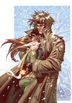 Gambit and Rogue NYColor by MicahJGunnell