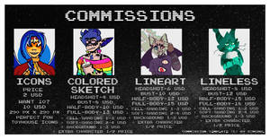 Commission Prices - 2019 - 2020 [CLOSED]
