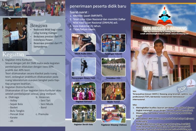 Brosur Sekolah Vindra Deviantart