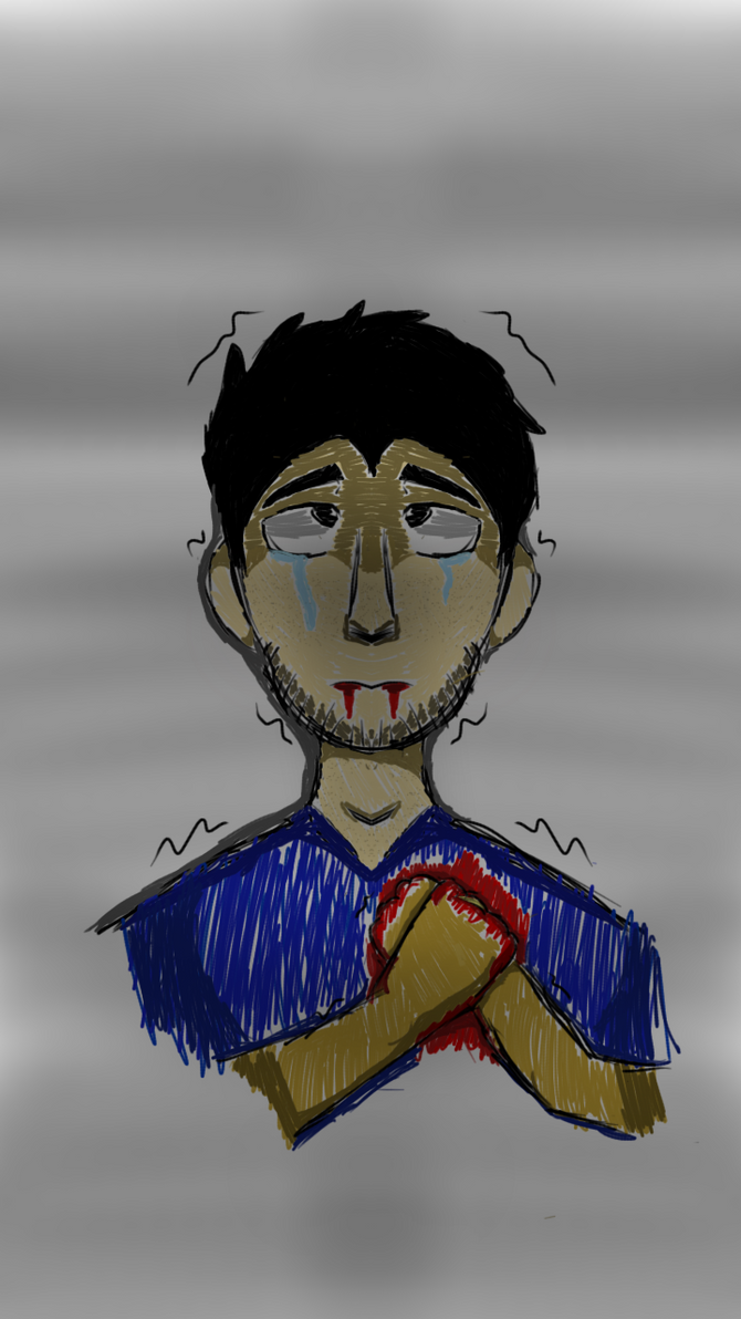 Wounded. by EyelessJack20211