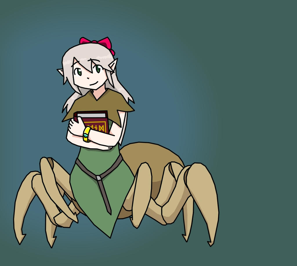 Licia the Arachne by Lazurez