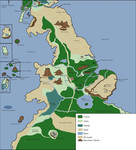 Redwall Full Map of Explored Country