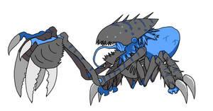 Megarachnid (Hostile Alien Race)