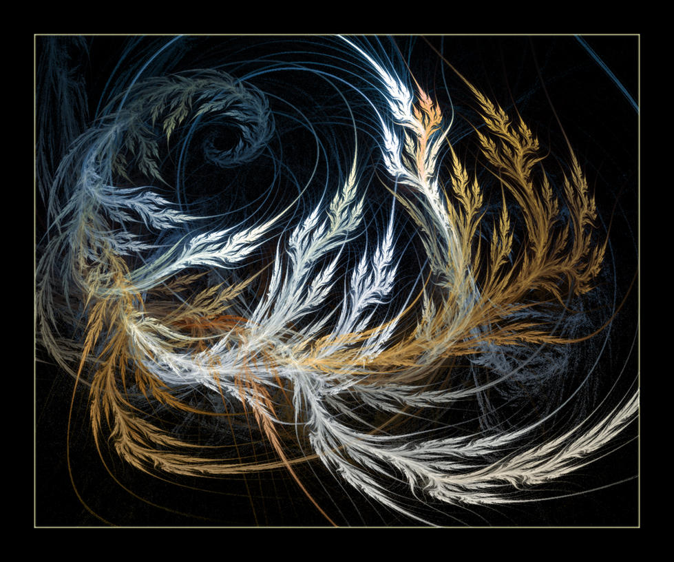 Phoenix feather by rainydaysaint