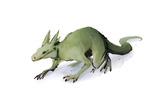 Lizard-Dragon by goatprince