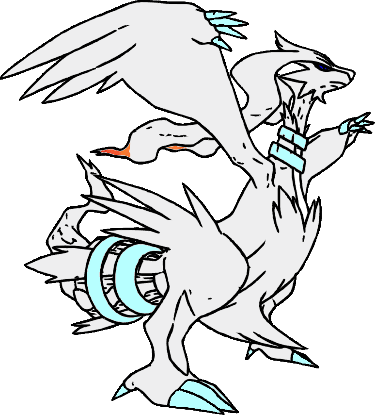 Coloring reshiram by flareon 10000degrees on deviantart for Flareon coloring page
