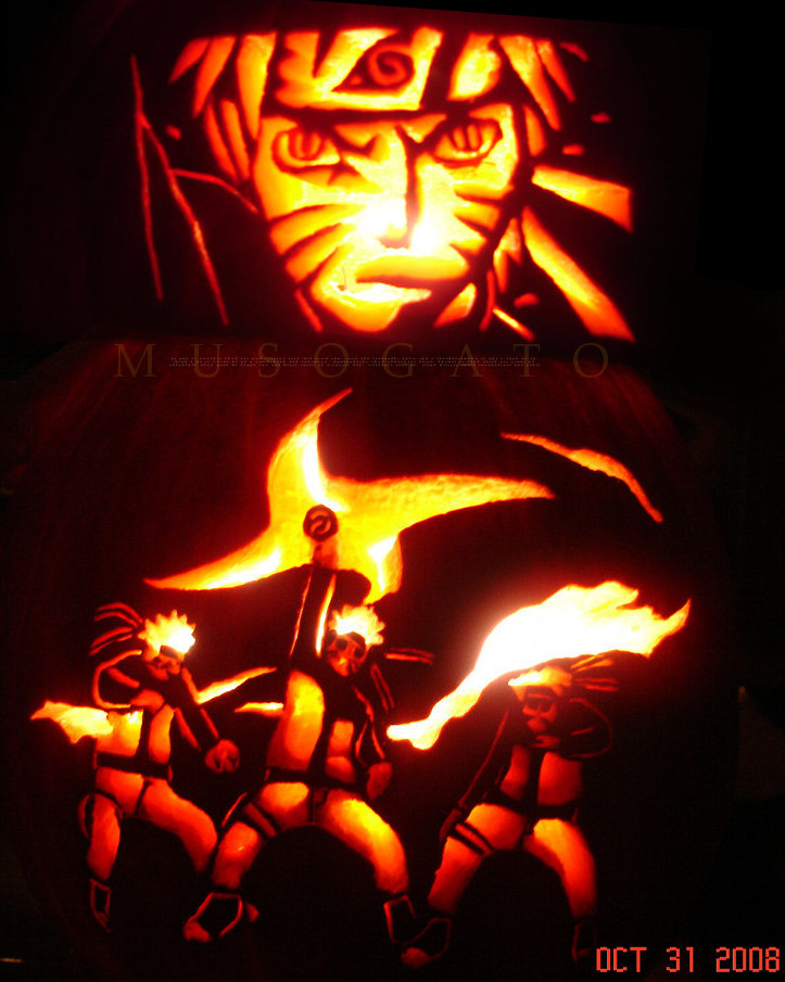 Naruto rasenshuriken pumpkin by musogato on deviantart