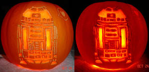 Pumpkin - Star Wars R2D2