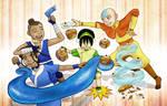 Avatar Cupcake Party