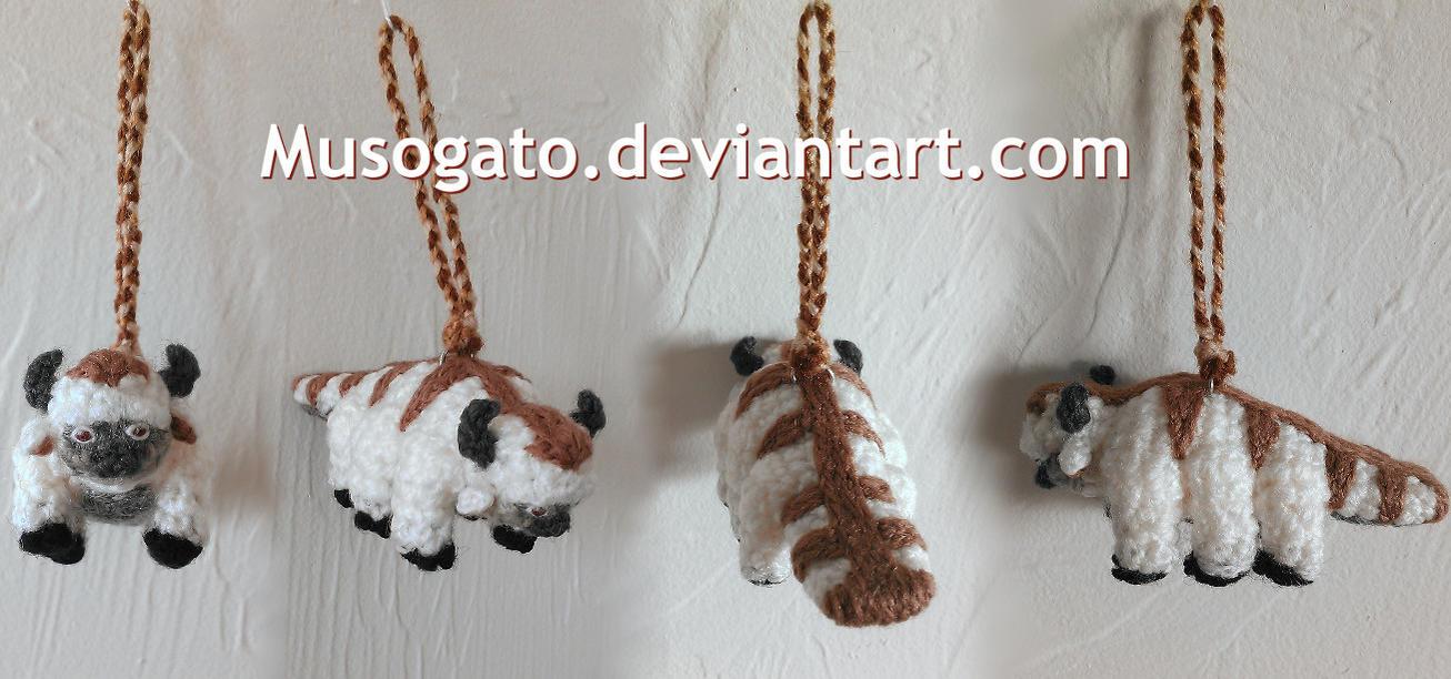 Appa Crochet Keychain (2015) by musogato