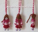 Ty Lee Crochet Keychain