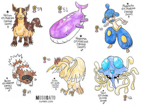 Inktober 2017: First Shinies