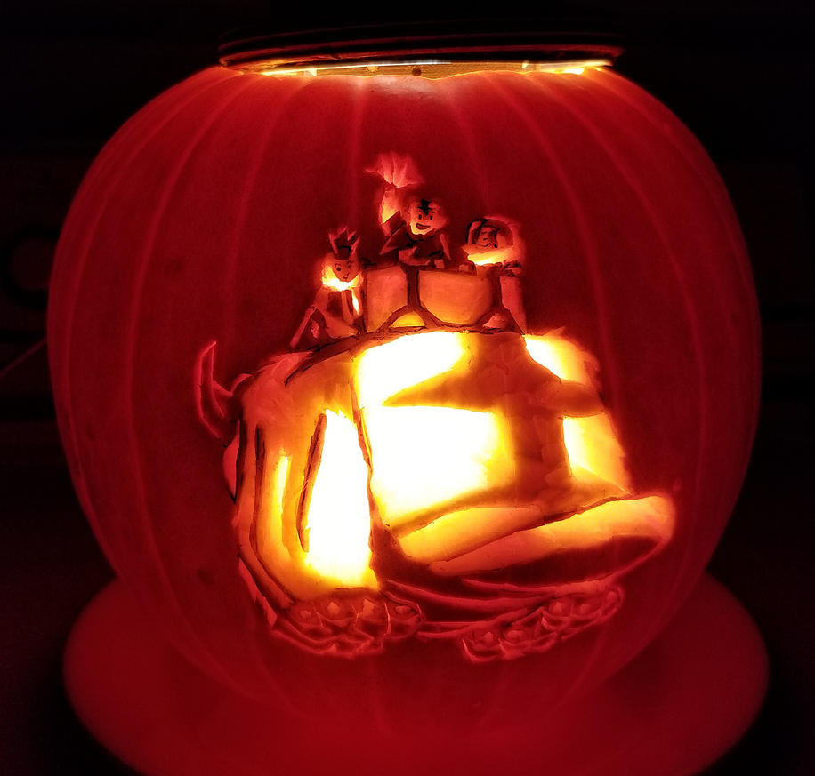 Yip Yip! Pumpkin by musogato