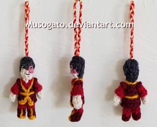 S3 Zuko Crochet Amigurumi by musogato