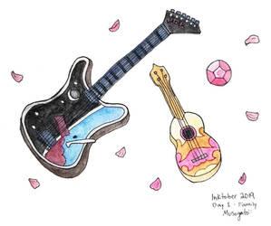 Inktober 2019: SU guitars