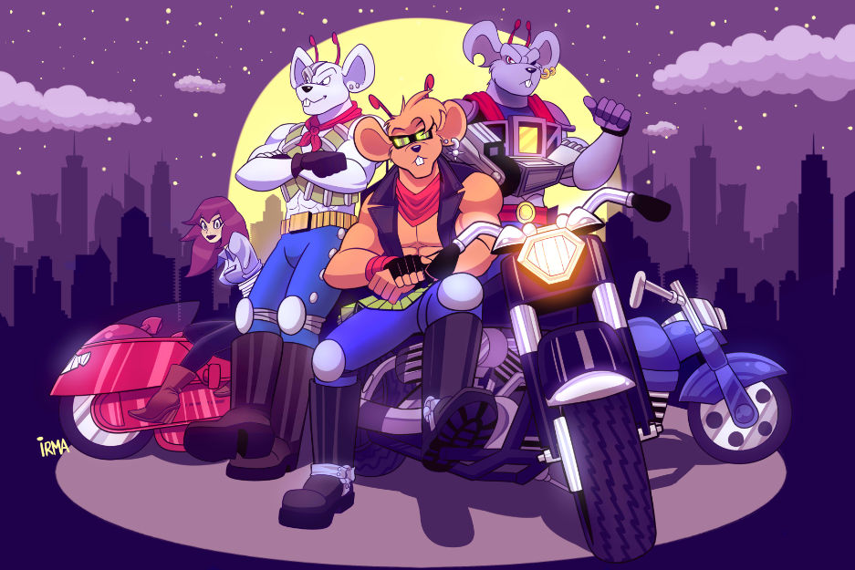 Biker mice from mars naked