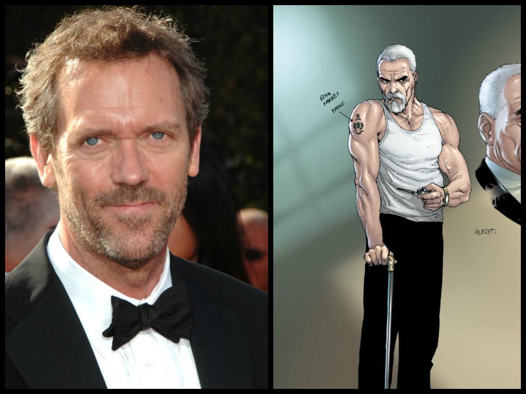 Hugh Laurie Alfred Fan...