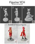 Figurine YCH open by siarczi